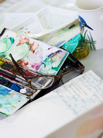 001 2nd Aug 2017 - Close watercolour course  - photo by Ash Mills