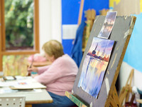 008 2nd Aug 2017 - Close watercolour course  - photo by Ash Mills