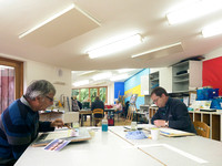018 2nd Aug 2017 - Close watercolour course  - photo by Ash Mills