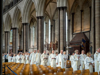 020 18thApril2019 -Salisbury Cathedral - Maundy Thursday  -  photo by Ash Mills
