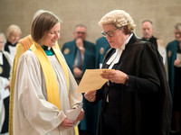 005 5thMay2019 - Installation of Anna Macham as Canon Precentor  - Salisbury Cathedral - Photo by Ash Mills