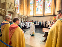 015 5thMay2019 - Installation of Anna Macham as Canon Precentor  - Salisbury Cathedral - Photo by Ash Mills