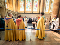 017 5thMay2019 - Installation of Anna Macham as Canon Precentor  - Salisbury Cathedral - Photo by Ash Mills