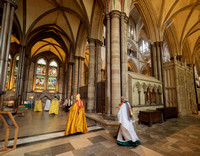 020 5thMay2019 - Installation of Anna Macham as Canon Precentor  - Salisbury Cathedral - Photo by Ash Mills