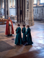 018 14thMay2019 - Salisbury Cathedral Pre-Prob Boys first Evensong  - Photo by Ash Mills