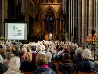 175 2020 Flower Display Opening - Demonstration -  Salisbury Cathedral 15thJune2019- photo by Ash Mills