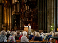 176 2020 Flower Display Opening - Demonstration -  Salisbury Cathedral 15thJune2019- photo by Ash Mills